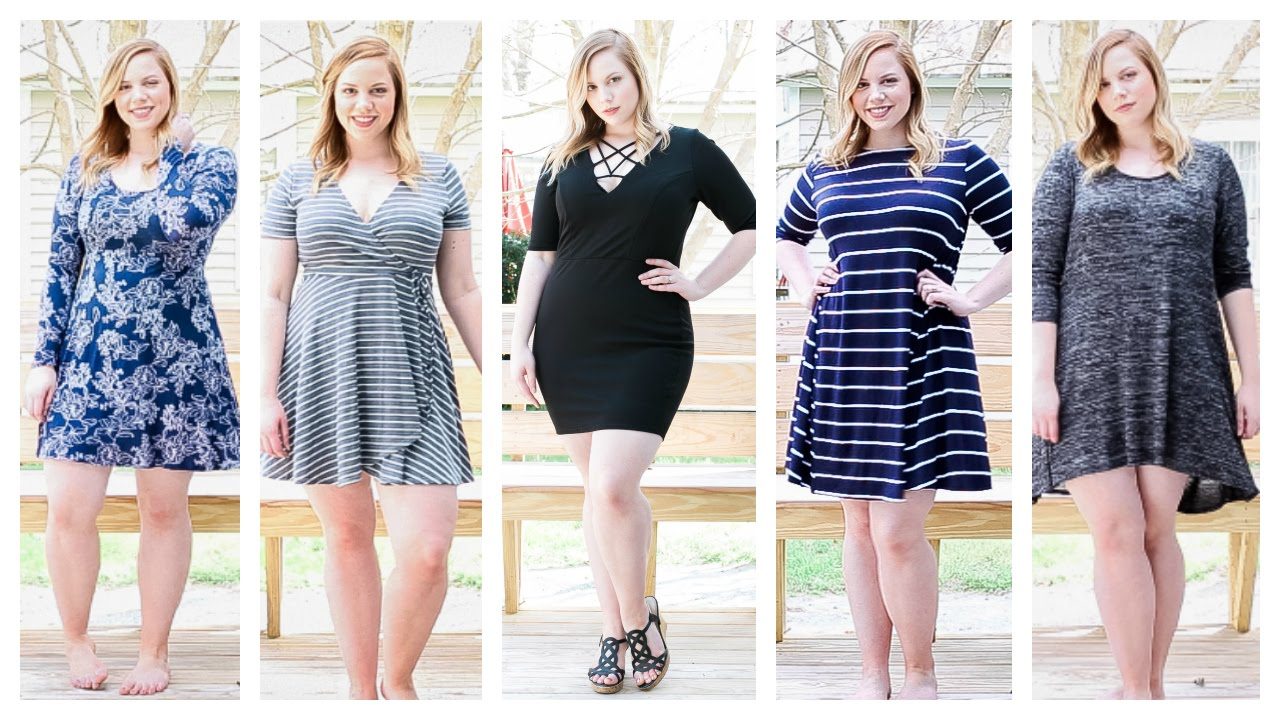 SPRING Plus Size Charlotte Russe Try On Haul!