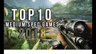 Top 10 Medium Spec PC Games 2017 | BEST GRAPHICS with Highly compressed download Links (1Gb to 6GB)