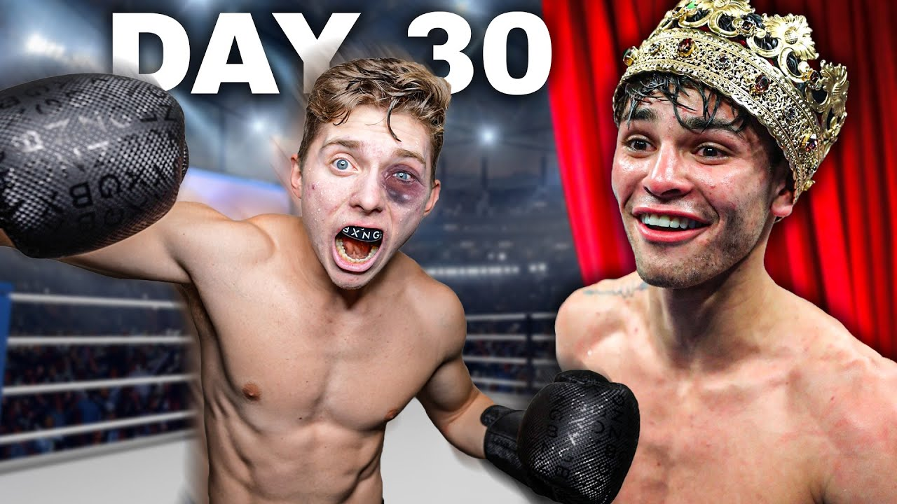 """I Trained Like Pro Boxer """"Ryan Garcia"""" For 30 Days"""