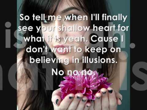 I Wish You Were Kate Voegele lyrics