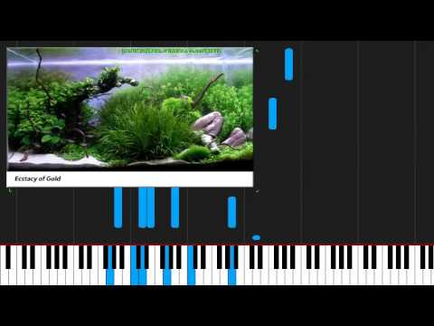 How to play The Ecstasy of Gold  Ennio Morricone on Piano Sheet Music