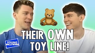 Collins \u0026 Devan Key Play Brother Tag \u0026 Talk Their New Toy Line