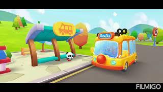 BabyBus -Baby Panda's School Bus, Let's drive - game play for kids screenshot 5