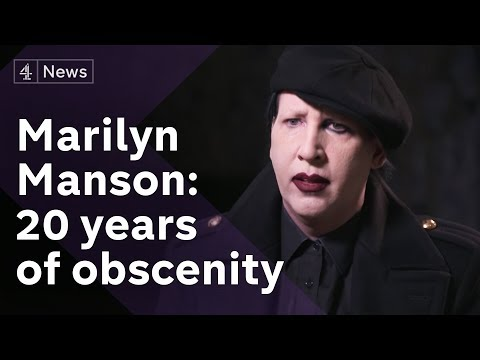 Marilyn Manson  2017: broken legs, namesakes, CIA recruitment and two decades of obscenity