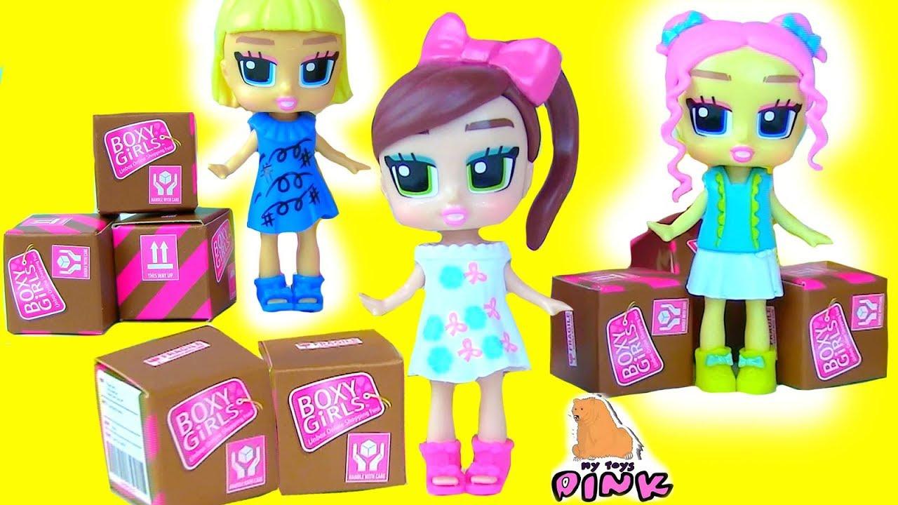 FASHION DOLLS DRESS UP КУКЛЫ BOXY GIRLS + Surprise Blind Boxes! ФЭШН ВЕЧЕРИНКА!!! ОДЕВАЛКИ для Кукол|одевалки девушки мода