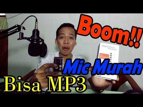 Review Mic MURAH !!! 165 Ribu  Digital Voice Recorder