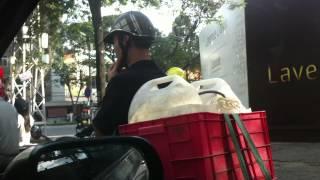 Driving around Ho Chi Minh City(Saigon), Vietnam Part 2