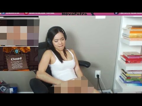 Twitch girl masturbating