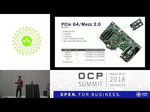 OCPUS18 – Accelerator Eco-System on Google - Rackspace - Zaius - Barreleye G2 Server