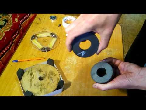 скалярные магнитные поля. регистрация компасом  и магнитом