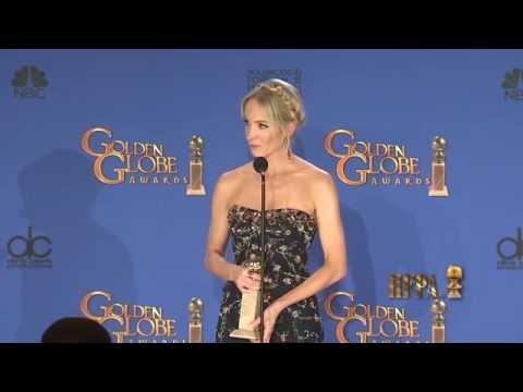Joanne Froggatt Golden Globes 2015 Press Room Interview