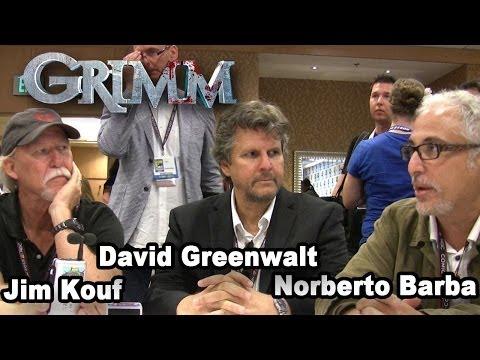 Grimm Producers - Jim Kouf, David Greenwalt & Norberto Barba