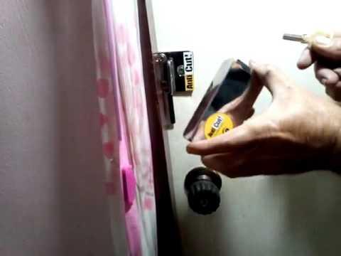 ยกระดับการป้องกัน ขโมย!!! ประตูลูกบิดชนิดบานผลักเข้า