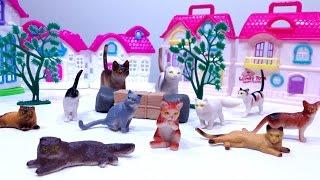 Mainan RUMAH RUMAHAN KUCING 💖 CAT HOUSE Toys For Kids 💖 Let's Play Jenica 💖