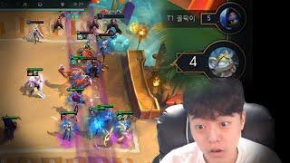 인간 상성 (꼴픽이 vs 팔차선 , 롤토체스 시즌5)
