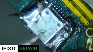 Microsoldering 101: Galaxy S3 USB Charge Port Replacement