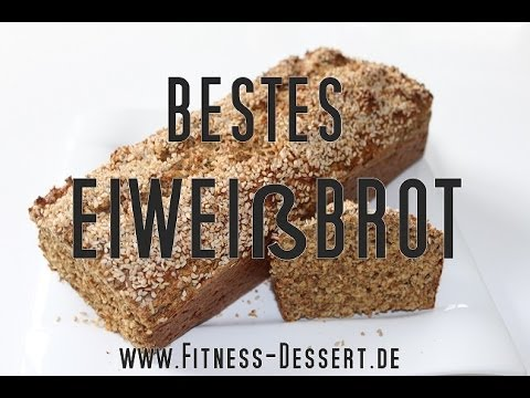 bestes fitness eiweissbrot selbst machen fitness rezept high protein youtube. Black Bedroom Furniture Sets. Home Design Ideas