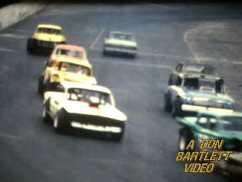 Fulton Speedway, August 3, 1969. Modifieds, Midgets, and Late Models. Don Bartlett video. Used with permission. - dirt track racing video image