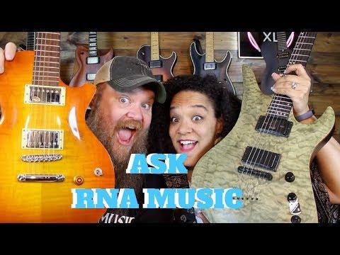 Best Metallica Song? Kiesel Guitars? MusicIans Lack Confidence? #ASKRNA