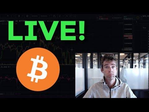 LIVE: Bitcoin Passes $19,000!! Real Time Chat And Analysis
