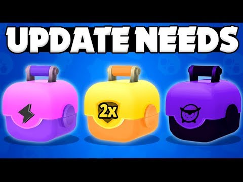 3 New Brawl Boxes | New Game Mode | & New Mechanic Concepts! - Brawl Stars Update Wish list!