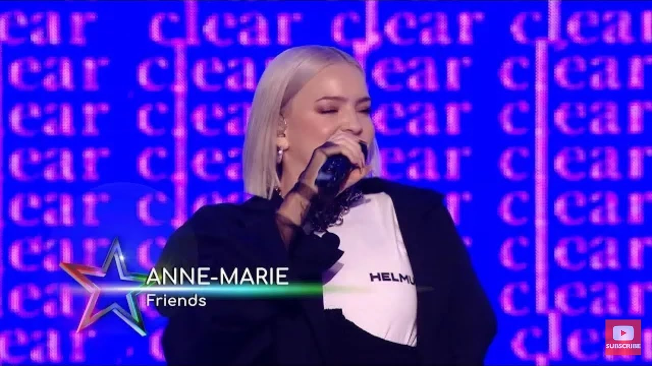 Anne Marie - Friends & 2002 Live At Global Awards 2019