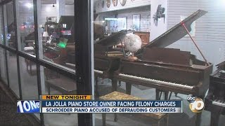 Longtime La Jolla Piano Store Owner Charged With Fraud