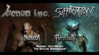 Venom Inc., Welcome to Hell/Metal We Bleed/Die Hard @ Asylum, Birmingham, 12/03/2018
