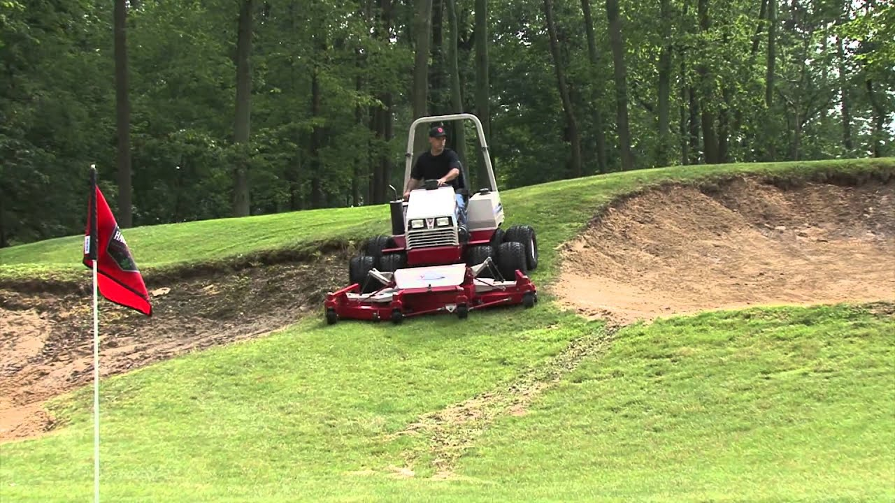 Ventrac MR740 Triplex Reel Mower