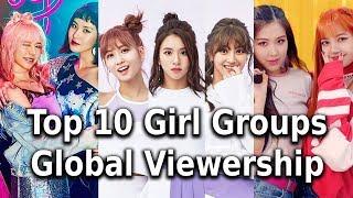 [TOP 10] Global Viewership for Kpop Girl Groups 2017 - Stafaband