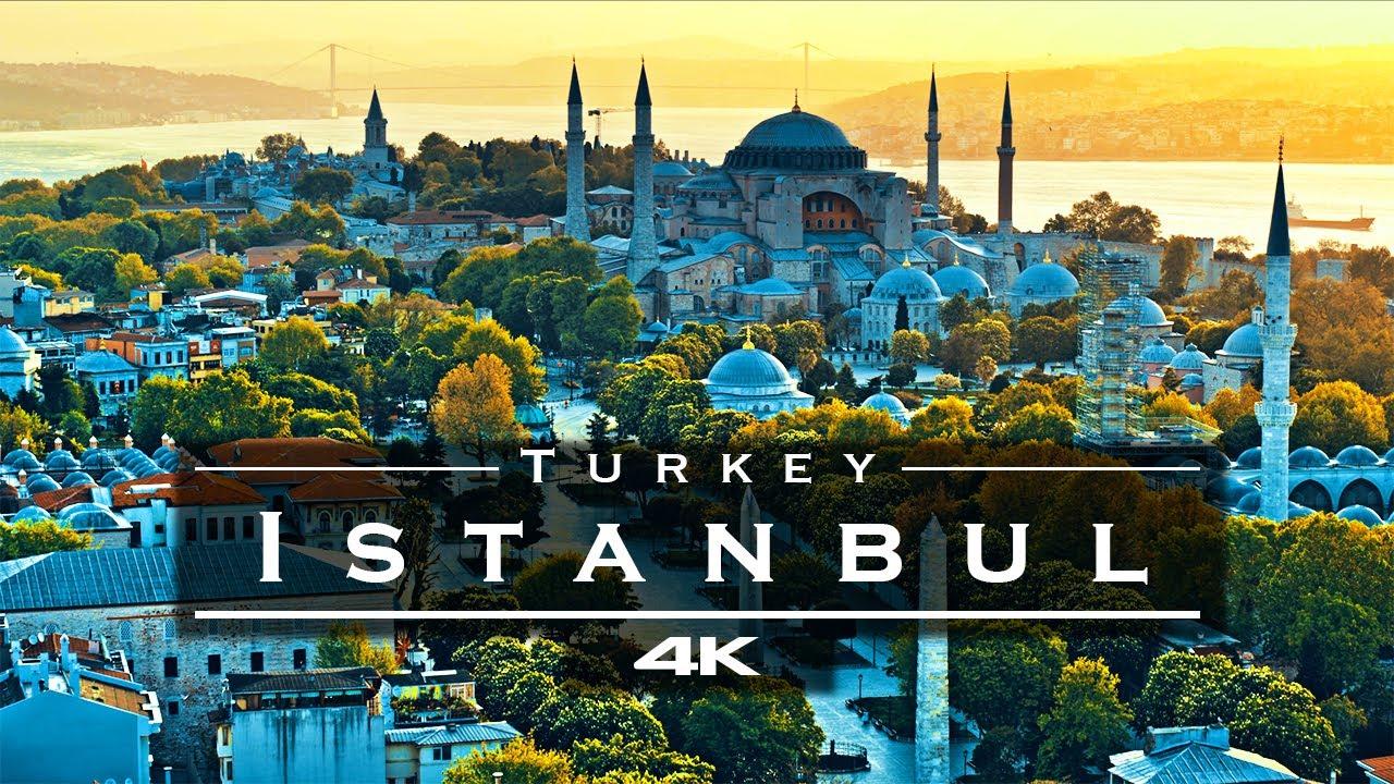 Download Istanbul, Turkey 🇹🇷 - by drone [4K]