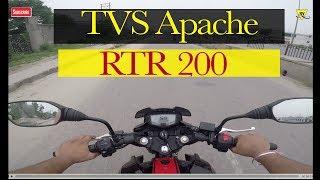 Apache RTR 200   Test Drive   TVS APACHE RTR 200   RTR 200