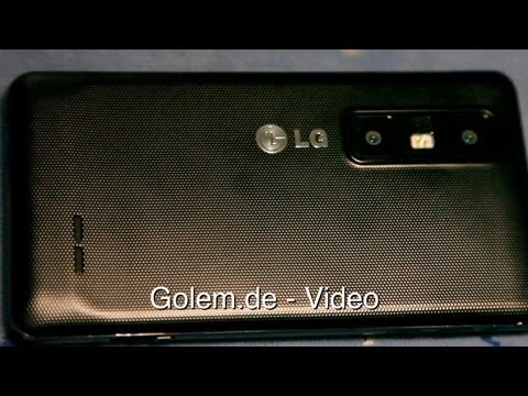 LG Optimus 3D Max - Hands on (MWC 2012)