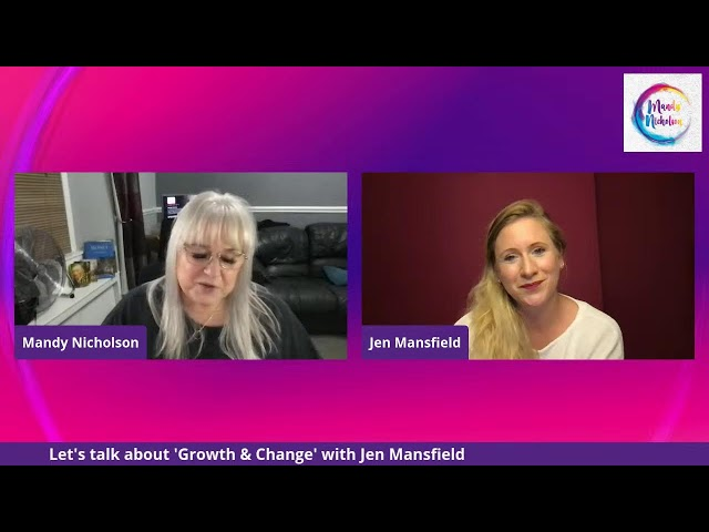 Episode 109 of Creative Genius TV - Growth and Change