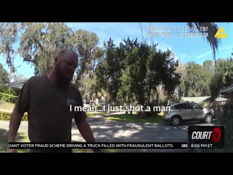 New Bodycam Shows Moments After Ahmaud Arbery Shooting | COURT TV