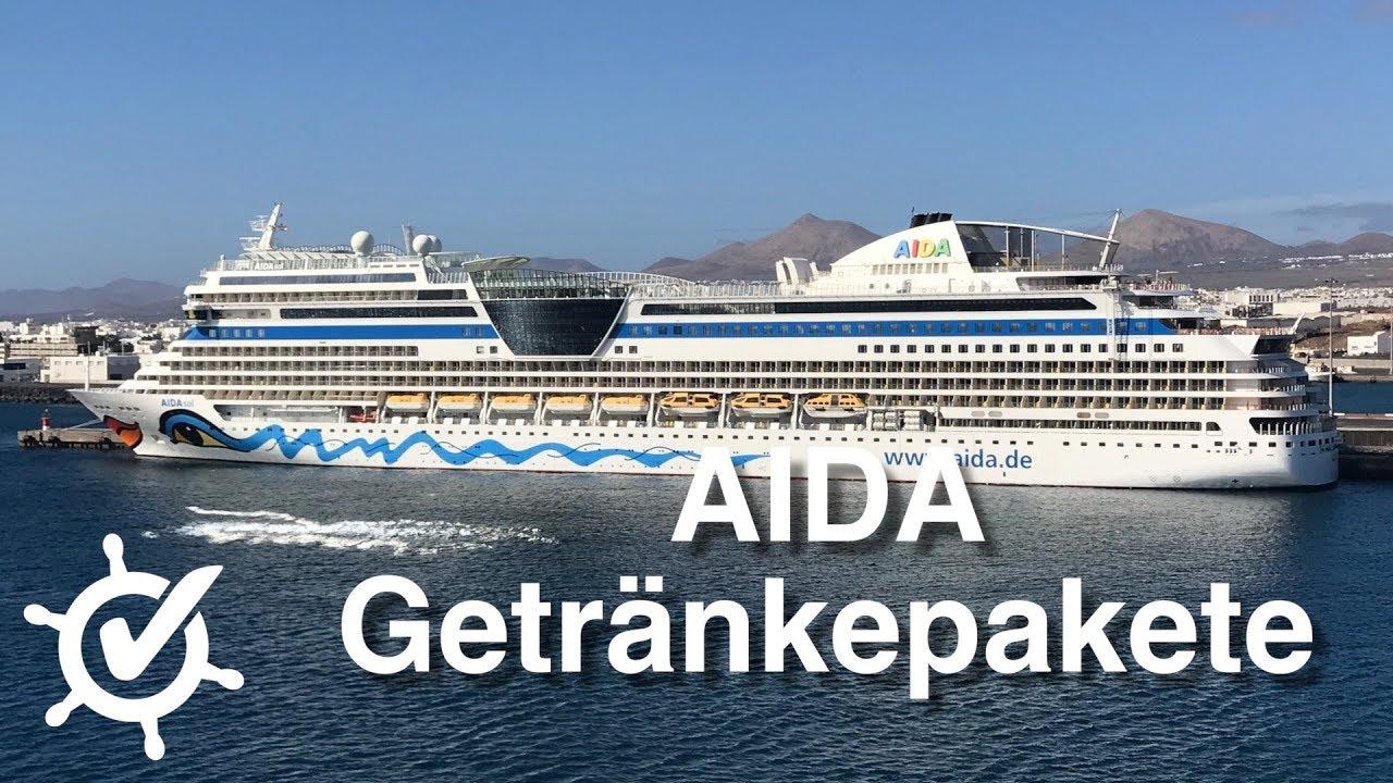 AIDA Getränkepakete - AIDA Guide - YouTube