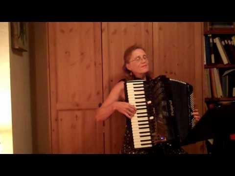 Planxty Fannie Power (Fanny Poer) by Turlough O'Carolan - an Irish air - played by accordiona