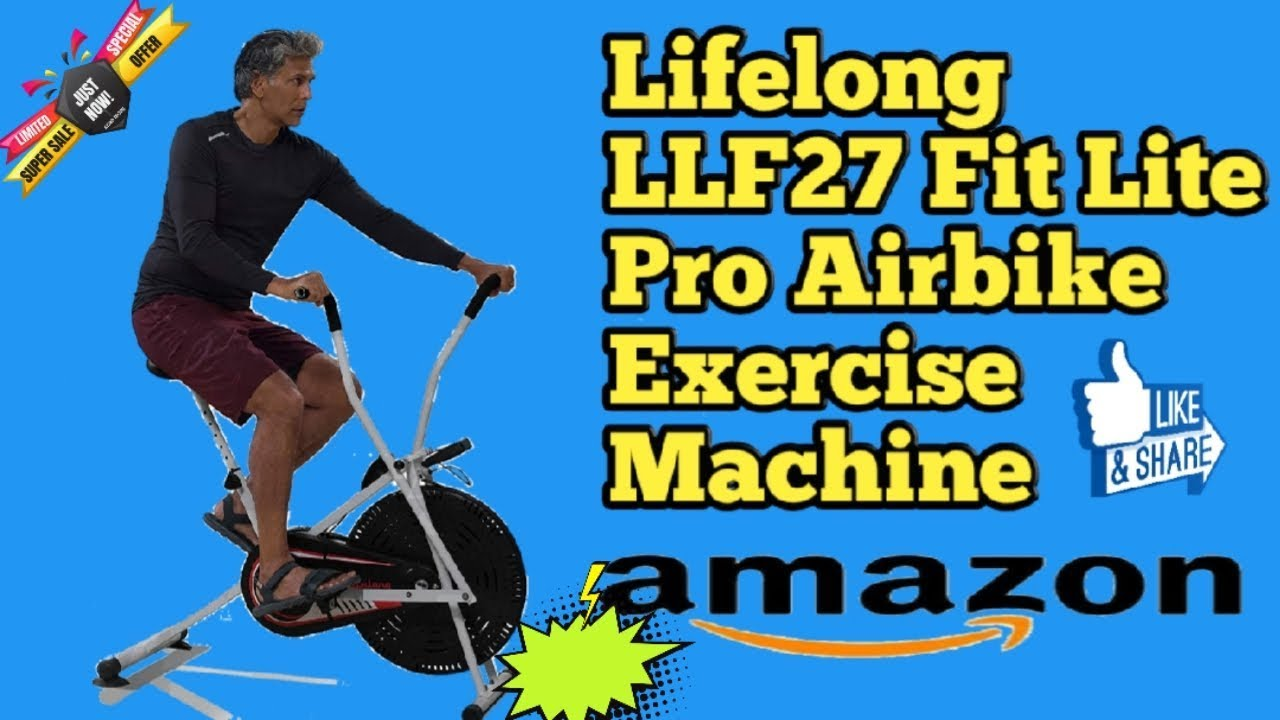 Lifelong Llf27 Fit Lite Pro Airbike Exercise Machine In 2020