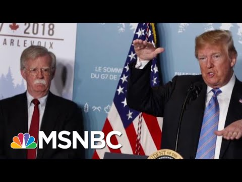 John Bolton Exits After Disagreements With President Donald Trump | Velshi & Ruhle | MSNBC