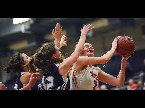 Girls Basketball: Lakewood senior Camilla Emsbo with the steal and layup