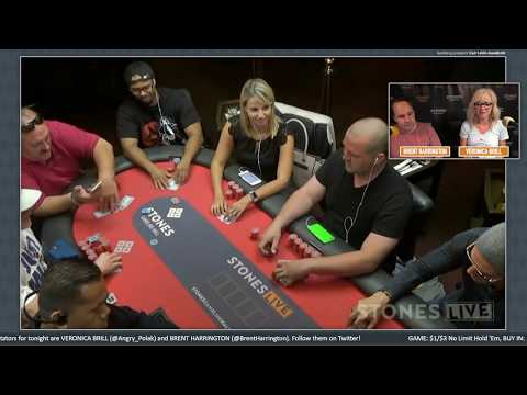 $1/$3 No Limit Hold 'Em, Wednesday, August 16, 2017