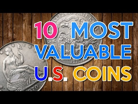 💵 10 Most Valuable U.S. Coins