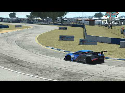 rFactor2 Sebring (s397) : 2 laps inside Mclaren 650S GT3
