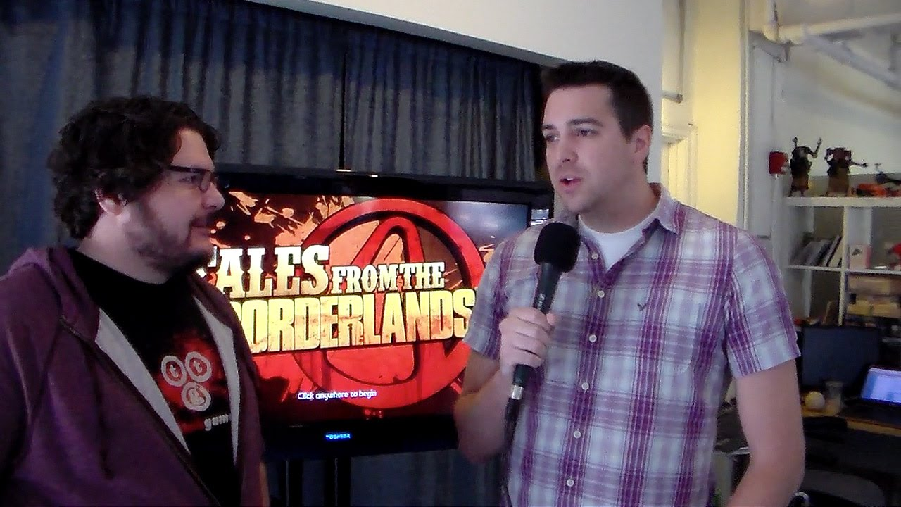 Tales from the Borderlands Interview (NYCC)