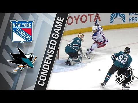 01/25/18 Condensed Game: Rangers @ Sharks