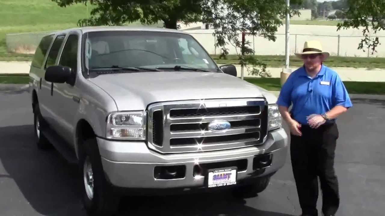Used  Ford Excursion Xlt Wd For Sale At Honda Cars Of Bellevue An Omaha Honda Dealer Youtube