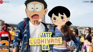 Jatt Ludhiyane Da Song || Student Of The year2 ||Nobita and Shizuka version||by ROASTER VIJAY