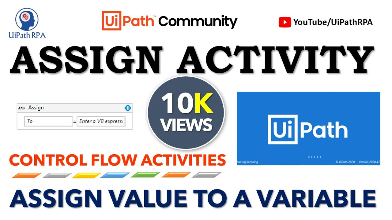 Assign Activity in UiPath|UiPath RPA Tutorial in Hindi