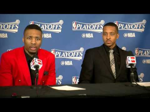Portland Trail Blazers preview NBA playoff matchup with Golden State Warriors