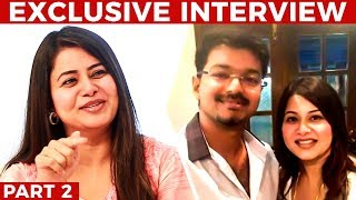 """""""Vijay Asked Me Not to Fall in Love"""" - Sangitha Krish Opens Up"""